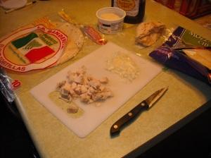 chicken casadia 1